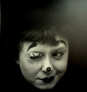 "Giulietta Masina, απο την ταινία του F. Fellini : ""La Strada"", 1954."